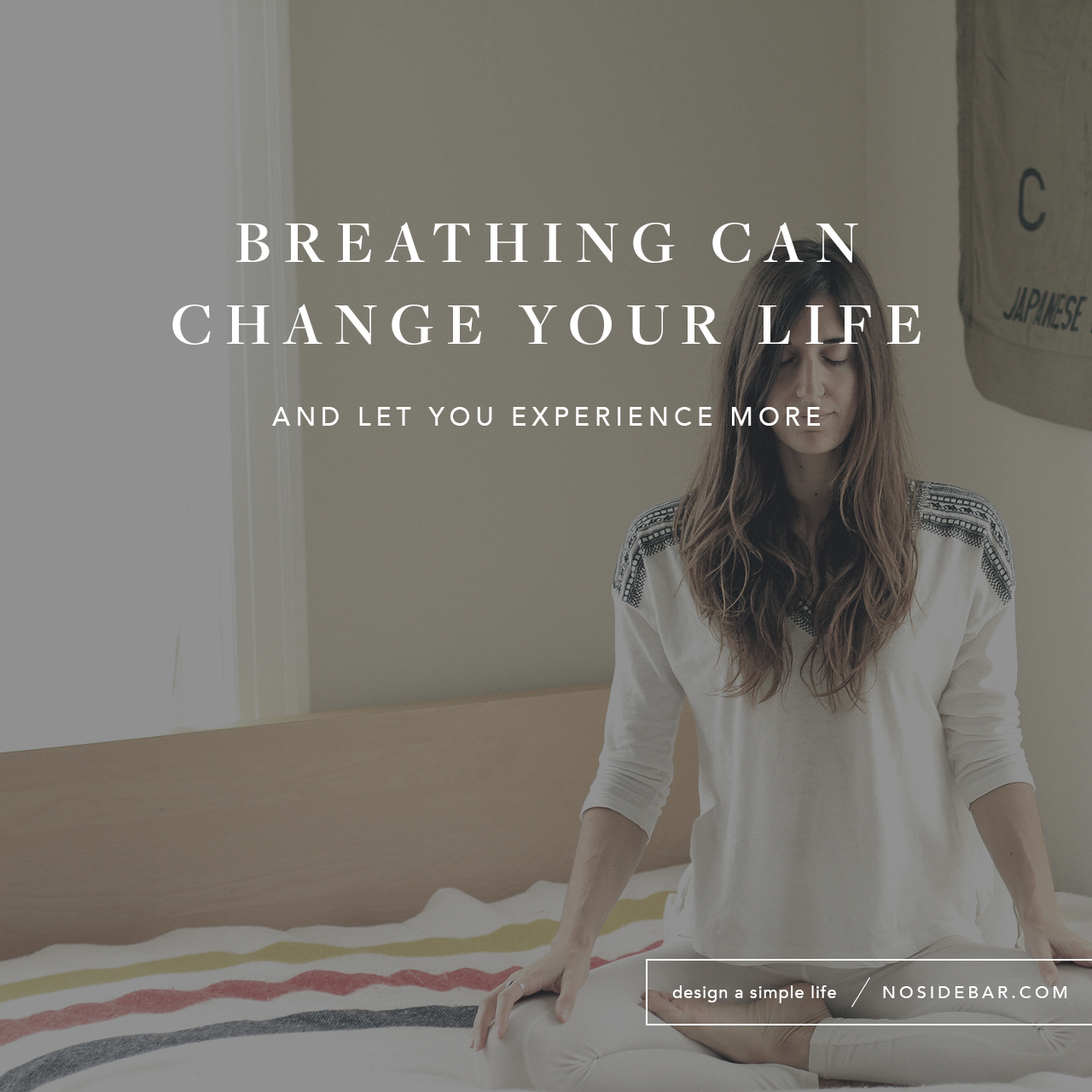 Learn to breathe deeply