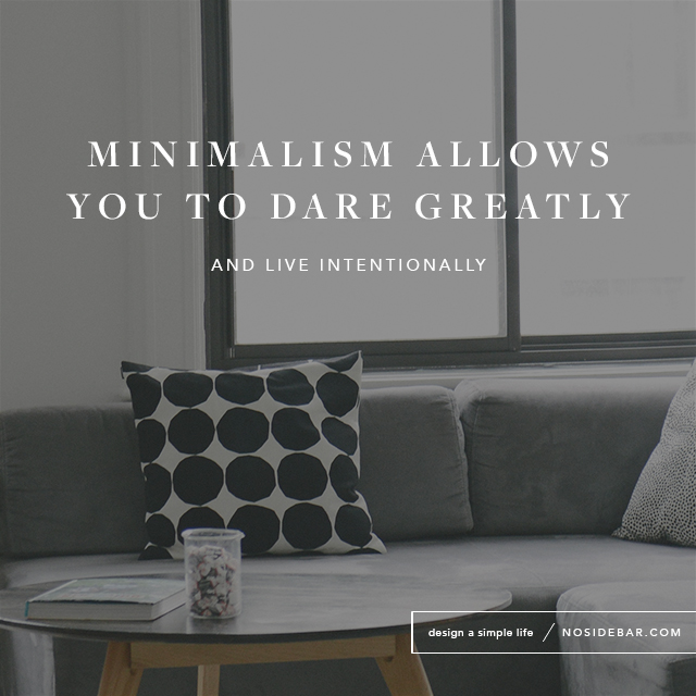 How Brené Brown Challenged My View on Minimalism